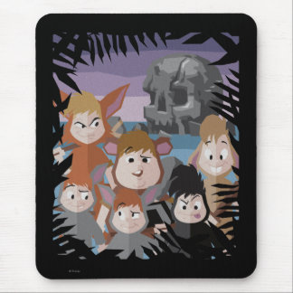 Peter Pan's Lost Boys At Skull Rock Mouse Pad