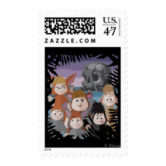 Peter Pan's Lost Boys At Skull Rock Postage