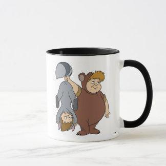 Peter Pan's Lost Boys -- Big Bear and Raccoon Mug