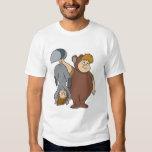 Peter Pan's Lost Boys -- Big Bear and Raccoon T Shirts