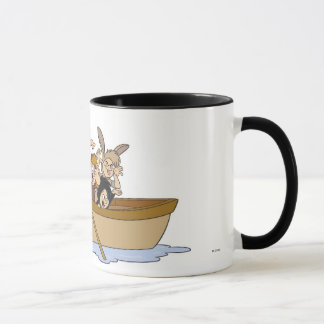 Peter Pan's Lost Boys in boat Disney Mug