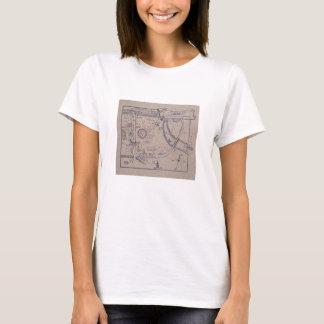 Peter Pan's Map of Kensington Gardens T-Shirt