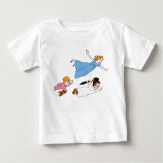 Peter Pan's Wendy, John and Michael Darling Flying Tee Shirt