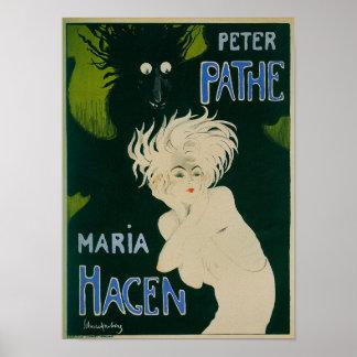 Peter Pathe - Maria Hagen Vintage Ballet Poster