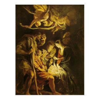 Peter Paul Rubens- Adoration of the Shepherds Postcard