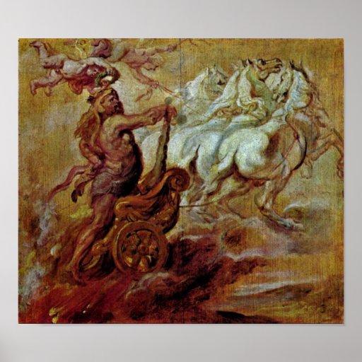 Peter Paul Rubens - Apotheosis of Hercules Print