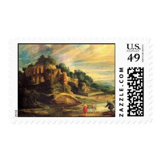 Peter Paul Rubens Art Postage