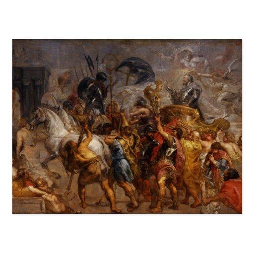 Peter Paul Rubens Art Post Cards