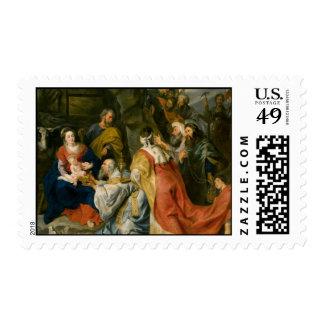Peter Paul Rubens Art Stamp