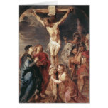 Peter Paul Rubens - Christ on the Cross Greeting Cards