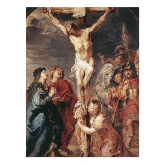Peter Paul Rubens - Christ on the Cross Postcard