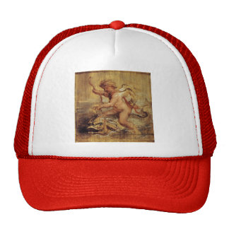 Peter Paul Rubens- Cupid Riding a Dolphin Mesh Hat