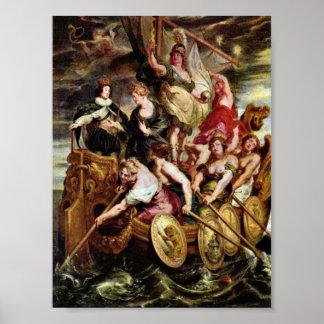 Peter Paul Rubens - Dauphin Louis XIII Poster