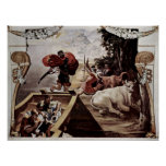 Peter Paul Rubens - después de una pintura por Tit Posters