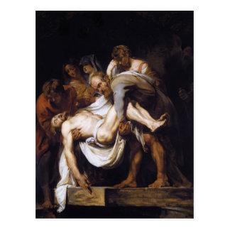 Peter Paul Rubens- el Entombment Postales