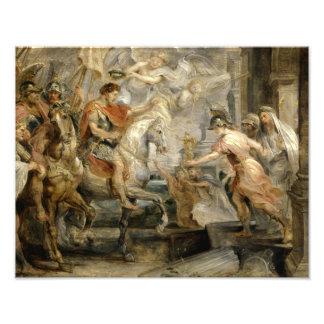 Peter Paul Rubens - entrada triunfante de Fotografía