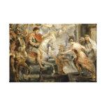 Peter Paul Rubens - entrada triunfante de Impresión En Lienzo