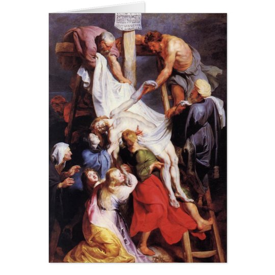 Peter Paul Rubens - From the Cross Card