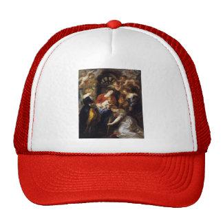 Peter Paul Rubens- la coronación de St. Catherine Gorra