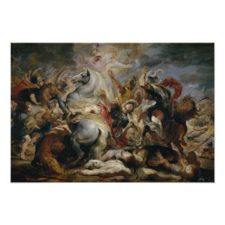Peter Paul Rubens - la muerte de Decius Mus Cojinete
