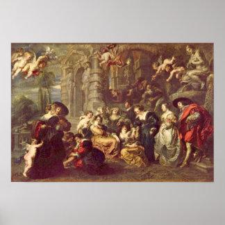 Peter Paul Rubens - Love Garden Poster