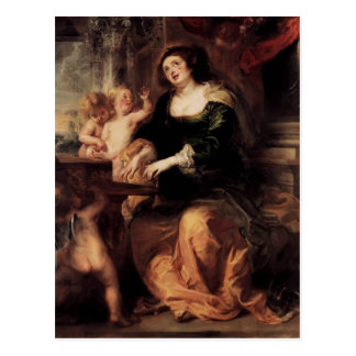 Peter Paul Rubens- St. Cecilia Postcard