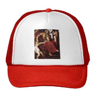 Peter Paul Rubens- St Jerome en su ermita Gorros Bordados