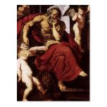Peter Paul Rubens- St Jerome en su ermita Tarjeta Postal