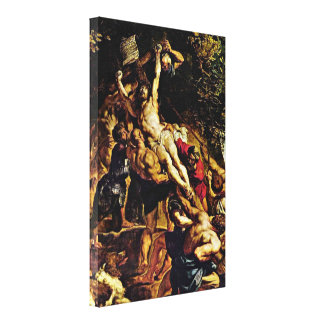 Peter Paul Rubens - The Elevation of the Cross Canvas Print