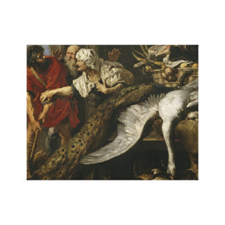 Peter Paul Rubens - The Recognition of Philopoemen Canvas Print