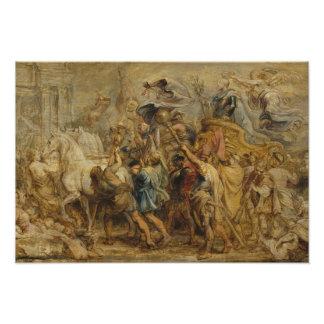 Peter Paul Rubens - Triumph del Enrique IV Cojinete