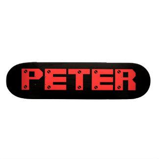 Peter Personalized Skateboard Skateboard Deck