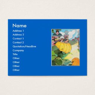 Peter, Peter, pumpkin-eater, Business Card