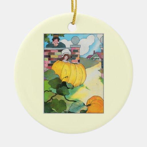 Peter, Peter, pumpkin-eater, Christmas Ornaments