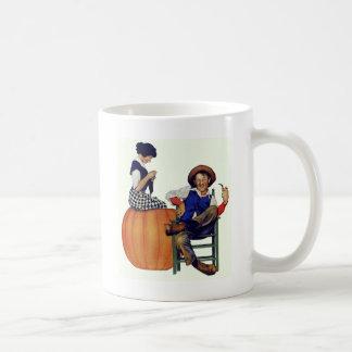 PETER, PETER, PUMPKIN EATER - HAD A WIFE & COFFEE MUG