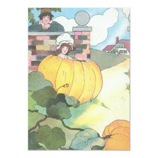 Peter, Peter, pumpkin-eater, 5x7 Paper Invitation Card