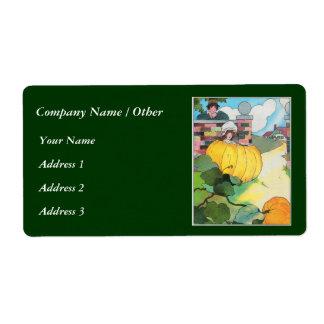 Peter, Peter, pumpkin-eater, Label