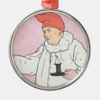 Peter, Peter, pumpkin-eater, Metal Ornament