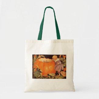 Peter, Peter, Pumpkin-Eater Nursery Rhyme Tote Bag