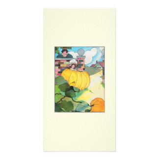 Peter, Peter, pumpkin-eater, Picture Card