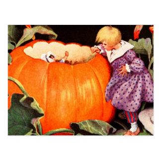 Peter, Peter, Pumpkin Eater Postcard