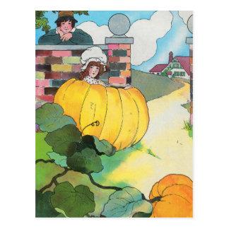 Peter, Peter, pumpkin-eater, Postcard
