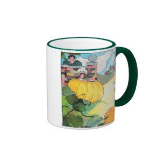 Peter, Peter, pumpkin-eater, Ringer Mug