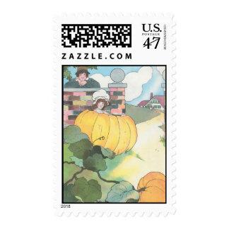 Peter, Peter, pumpkin-eater, Stamp