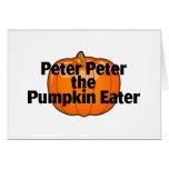 Peter Peter The Pumpkin Eater Card