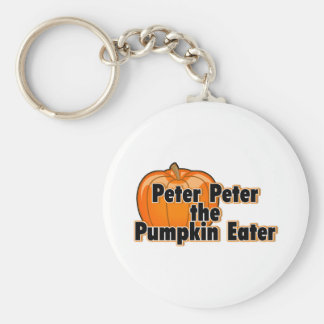 Peter Peter The Pumpkin Eater Keychain