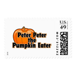 Peter Peter The Pumpkin Eater Postage Stamp