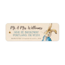 Peter Rabbit | Baby's First Birthday Label