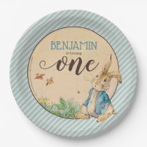 Peter Rabbit | Baby's First Birthday Paper Plate