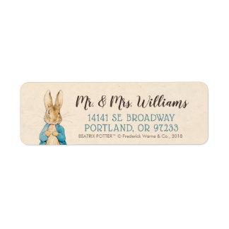 Peter Rabbit | Boy Baby Shower Label